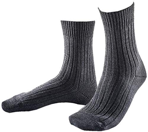 ORIGINAL BUNDESWEHR SOCKE/STRUMPF PLÜSCHSOHLE BW WINTER SOCKEN STRÜMPFE MERINO, Größe:50/51/52, Modell-Typ:Socke (kurz), Farbe:Grau