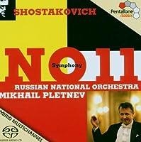 Symphony No. 11 (Pletnev, Russian No) [Sacd/CD Hybrid] (2013-08-05)