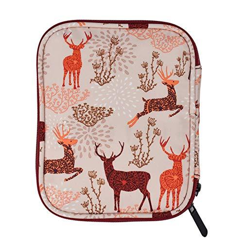 Phayee geweven opbergtas, mini draagbare opbergtas met ritssluiting Alle nylon tas, make-up tas
