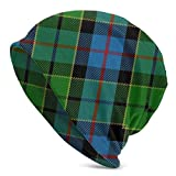 XCNGG Scots Style Clan Forsyth Tartan Plaid Winter Ski Warm Beanie Gorro de...