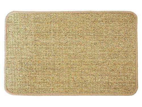 Primaflor - Ideen in Textil Katzen-Kratzmatte Katzenteppich - Nuss 67 x 140 cm, Sisal, Langlebige Rutschhemmende Sisal-Matte, Geeignet für Fußbodenheizung, Krallenpflege Sisalteppich für Wand & Boden