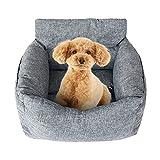 Jodimitty Autositz für Hund, Auto Hundesitz für Kleine Mittlere Hunde Waschbarer Rutschfester...