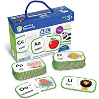 Learning Resources ABC Puzzle Cards (Ages 4+)