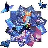 RMENOOR 150 Pcs Papel de Origami 15 * 15cm de 12 Constelaciones Papel para Papiroflexia de Doble...