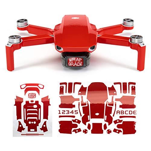 WRAPGRADE Skin Compatibile con DJI Mavic Mini (Super Red)