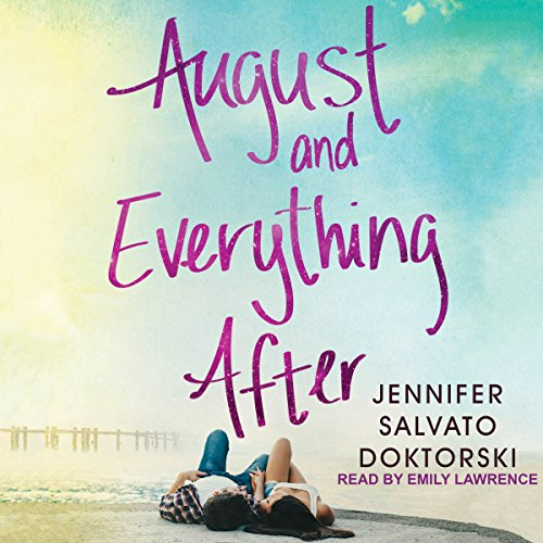 August and Everything After audiobook cover art