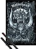 1art1 Motoerhead Poster (91x61 cm) Kiss of Death Inklusive