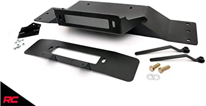 Rough Country Hidden Winch Mounting Pate (fits) 2009-2014 F150 V8 Recovery System OE Bumper 1010
