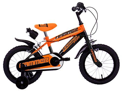 Mario Schiano 246 14' Hammer New 01V Bike, Arancione/Nero, Multi Color