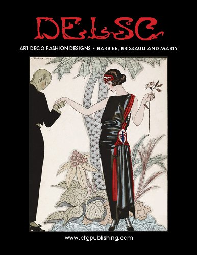Art Deco Fashion Designs: Barbier, Brissaud and Marty (English Edition)
