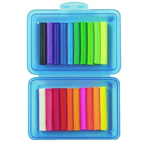 Stylex Knete, 20 Stangen in Kunststoffbox (4er Pack)