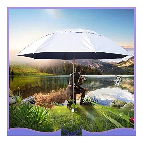 Garden Beach Patio Tilting Tilt Umbrella Adjustable Outdoor Parasol Sun Shade Umbrella New Protection Ultraviolet-proof Parasol for Patio/Beach/Pool