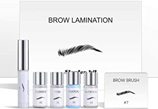 Eyebrow Lamination Kit, DIY Perm For Brows, Professional Lift For Trendy Fuller Brow Look Easy To Use Home Salon Makeup, L...