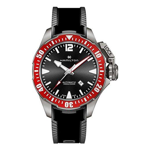 Herren Hamilton Khaki Navy Kampfschwimmer Automatik Uhr h77805335