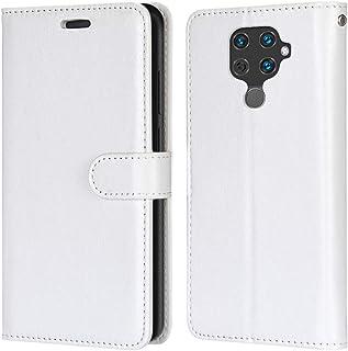 Laybomo Carcasa para Huawei Nova 5i Pro/Mate 30 Lite Tapa Funda Cuero Estilo-Sencillo Monederos Billetera Bolsa Magnética ...