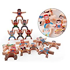 High Quality: The toy features the completely safe material, 100% safe solid Puzzle pieces and water paint without toxic, and the toy features the suitable size. Great Educational Toys: Connect the Hercules blocks together while keeping the Hercules ...