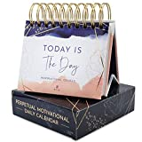 RYVE Motivational Calendar - Daily Flip Calendar with Inspirational Quotes - Inspirational Desk Decor for Women, Office Decor for Women Desk, Motivational Gifts for Women, Desk Accessories for Women
