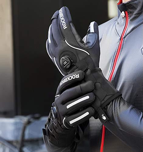 Guantes De Invierno AntideslizantesAdjusatble Cycling Gloves