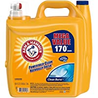 Arm & Hammer Clean Burst Liquid Laundry Detergent, 170 Loads (255 Fl Oz) + $10 Gift Card