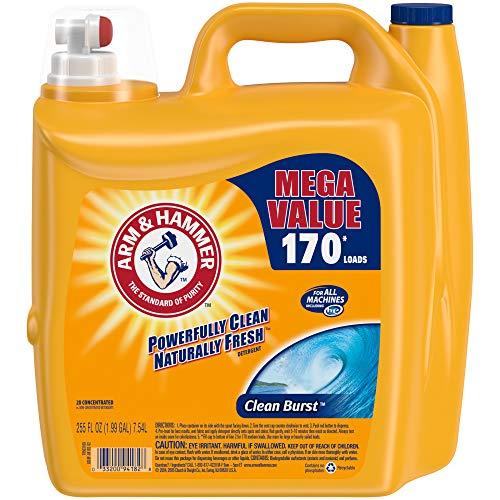 Arm amp Hammer Clean Burst Liquid Laundry Detergent 170 Loads