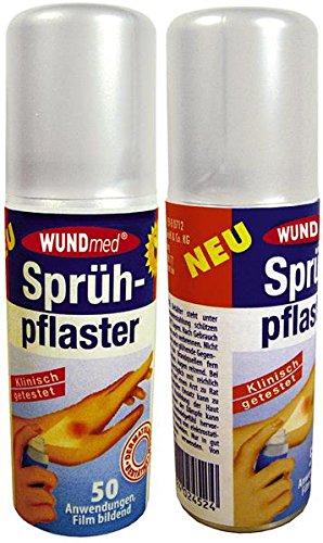 WUNDmed Sprühpflaster - 3 x 40 ml - wasserundurchlässig - klinisch getestet