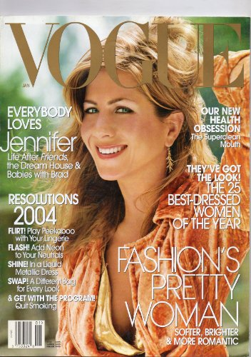 Vogue January 2004 (JENNIFER ANISTON)