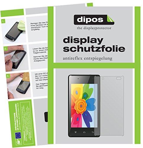 dipos I 2X Schutzfolie matt kompatibel mit Hisense HS-U610 Folie Bildschirmschutzfolie
