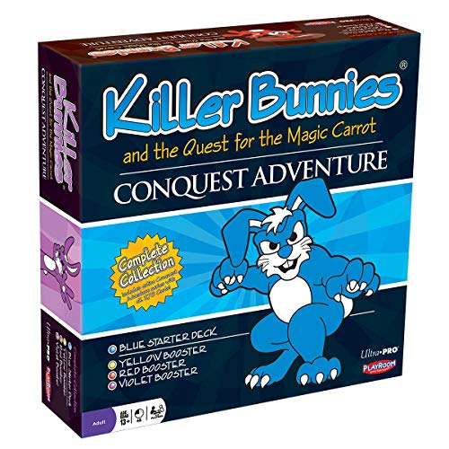 Ultra Pro Killer Bunnies and The Quest for The Magic Carrot - Conquest Adventure
