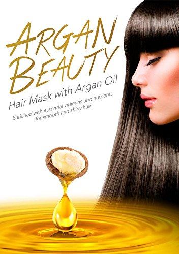Limited price Argan Beauty Hair Mask with Cheap Oil 10 ml x Deep sachets 25