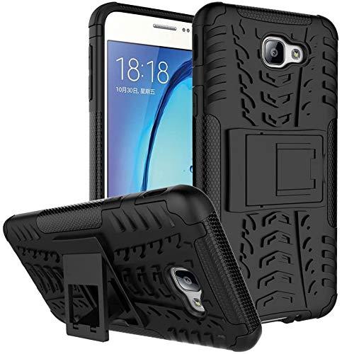 Capa Capinha Anti Impacto Para Samsung Galaxy J5 Prime e Galaxy On 5 2016 Case Armadura Hybrid Reforçada Com Desenho De Pneu - Danet (Preto)