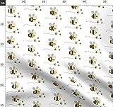 Sommer, Biene, Tiere, Natur, Käfer, Junge, Pfeil Stoffe -