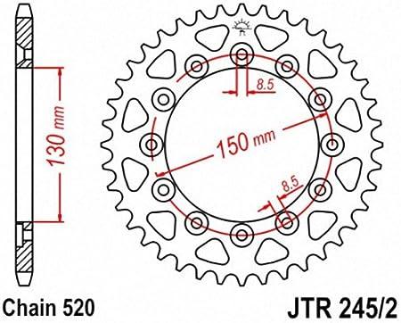 JT Sprockets JTR808.51 51T Steel Rear Sprocket