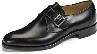 Mens Loake Formal Buckle Shoes Fitting F Style - 204B