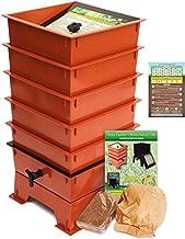 Worm Factory DS5TT 5-Tray Worm Composting Bin + Bonus