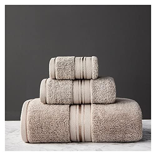 toalla de baño Toalla de algodón egipcio Conjunto de toalla de baño y toalla de cara Can Baño de una sola opción Toalla de Toallas de Viaje Toallas deportivas ( Color : 6 , Size : 3Pcs Towel set )