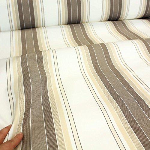 TOLKO Sonnenschutz Markisen-Stoffe als Meterware Zum Nähen mit UV-Schutz 50+ | Wasserdicht, Extra Langlebig - Ohne Ausbleichen (Mehrfarbig)