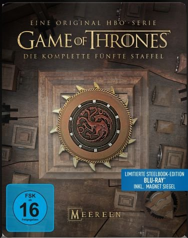 Game of Thrones - Staffel 5 - Steelbook [Blu-ray]