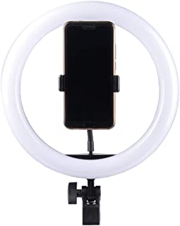 "Marklif 10 Inches Big LED Ring Light for Camera, Phone tiktok YouTube Video Shooting and Makeup, Ring Light (10"" inchs Light)"