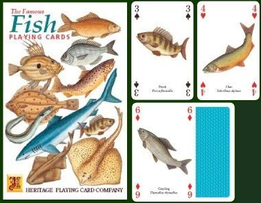 The Famous Fish Playing Cards by Heritage