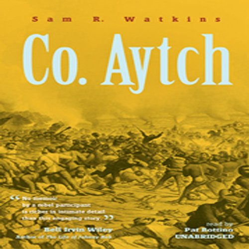 Co. Aytch audiobook cover art