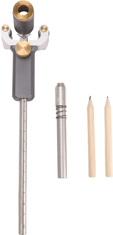 BQLZR Aluminum Alloy Wood Scribe Tool Wheel Marking Gauge Woodwo