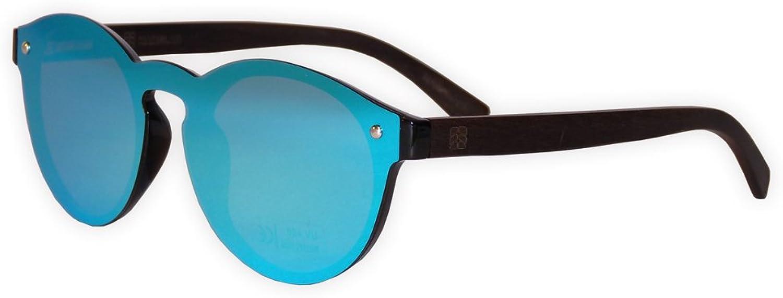 Wooden Eco Polarized Sunglasses One Piece Manglar