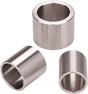 3 Kind Of 3/4'' Thick Reducing Bushing Adapters Id 1/2'' Od 5/8'' | Id 5/8'' Od 3/4'' | Id 3/4'' Od 1'' For Reduced Diameter Arbor Hole Of Bench Grinding Wheel Or Sanding Wheel 3 PCS