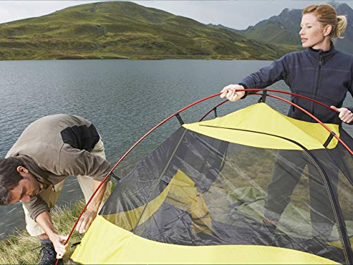 Selecting a Campsite and Pitching Shelter