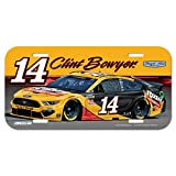 WinCraft NASCAR Stewart Haas Racing Clint Bowyer NASCAR Clint Bowyer #14 License Plate, Multi, na