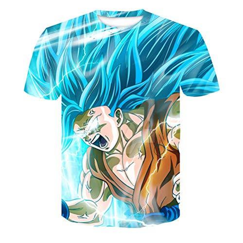 FZWAI T-shirt met ronde hals en korte mouwen Tops T-shirt Blouse Heren T-shirt Hawaiiaanse shirts Jongens