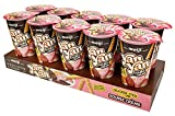 Meiji Yan Yan Dipping Sticks, Chocolate and Strawberry Double Crème - 2 oz, Pack of 10 - Cracker...