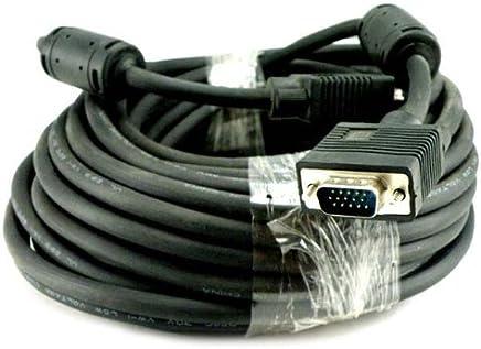 Importer520 Premium VGA/SVGA/XGA/SXGA/UXGA HD15 液晶高清电视显示器投影仪电缆 25 英尺