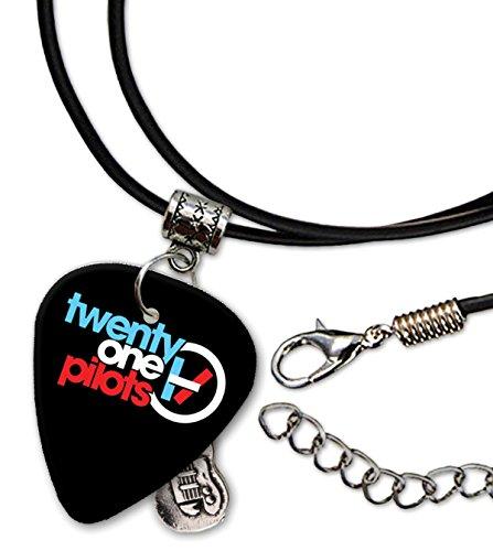 Twenty One Pilots Guitarra Plectro Cord Necklace Collar (F1)