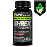 Being Nutritions - SHREX ADVANCE - (No Added Caffeine) Fat Burner with Green
